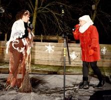 Pabradėje įžiebta Kalėdų eglė_13