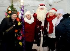Pabradėje įžiebta Kalėdų eglė_3